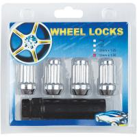 China wheel locks with key,4 nuts +1 key for one set on sale
