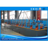 Quality Carbon Steel Steel Tube Production Line , Round Pipe Manufacturing Machine wholesale