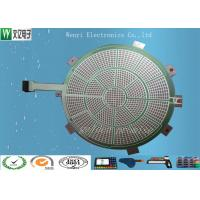 Quality Round Green Insulate PET Flex Circuit 0.125 Mm Silver Paste Print For Sports Electronic Dart wholesale