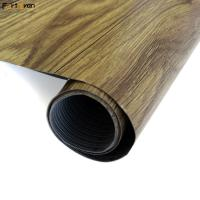 Quality Apartment / Hotel Pvc Flooring Roll Wood Design Stain Resistant 20 - 30m Length wholesale