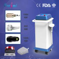 Quality Effective multifunction 3mm spot size 1064nm nd yag laser tattoo removal machine wholesale