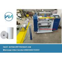China 1ply Coreless or with core type ATM POS Fax thermal Paper roll Slitting Machine on sale