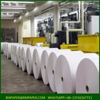Quality C2s coated White Bond Paper Roll in 75mm Width For Cash Register wholesale