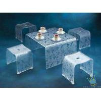 Quality FU (7) clear acrylic lit furniture wholesale