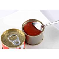 Quality Natural Tomato Puree Canned Tomato Paste Canning Tomato Sauce wholesale