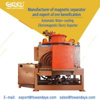 Quality 380ACV Oil Cooling Wet High Intensity Magnetic Separator For Feldspar / Clay wholesale