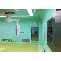 Cheap Class 100 - 10000 Prefabricated Clean Room / Modular Cleanroom Systems for sale