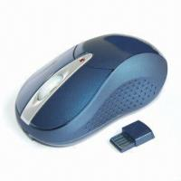 Quality 2.4G Wireless Laser Mouse with 1,6000dpi Switchable Resolution and Low Voltage Indicator wholesale