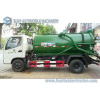 Cheap Sewage Suction Tanker Truck , Sewage Disposal drainage septic tank for sale