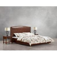 Cheap Glassic design of Leisure Bedroom Furniture Upholstered Headboard Bed by True for sale
