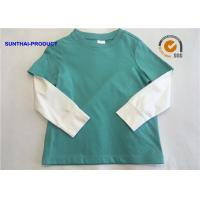 Quality 2 - 12 Size Plain Baby Clothes 100% Cotton Jersey Long Sleeve Layering Tee wholesale