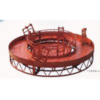 Quality Red Rounded Lifting Powered High Working Rope Suspended Platform for Building Maintenance wholesale