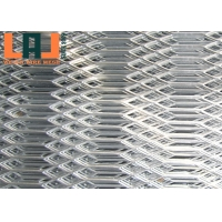 China 1200*2400mm Hexagonal Hole Shape 1mm Aluminum Expanded Metal Mesh for sale