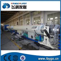 Quality 110kw Pipe Making Machine 110-315mm PVC Pipe Extrusion Machine wholesale