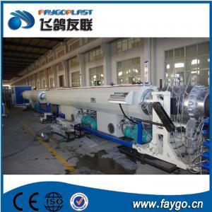 110kw Pipe Making Machine 110-315mm PVC Pipe Extrusion Machine