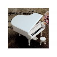 Quality Home Decoration Wooden Crafted Gifts Piano / Wooden Music Box For Birthday Gift wholesale