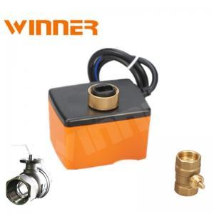 Quality Compact Design Mini Electric Ball Valve , HVAC Flow Control Valve IP54 wholesale