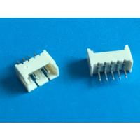 Quality Wafer PCB Shrouded Header Connectors 4 Pin Right Angle Male Socket Connector wholesale