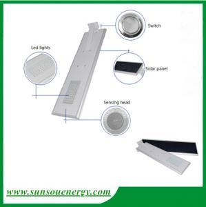 Quality Led solar street lights 20w, solar garden light, integrated solar street light with sensor for cheap sale wholesale