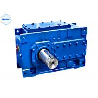 Quality 1.25 - 450 Ratio Industrial Gearbox / Gear Transmission with Solid & Hollow Shaft wholesale