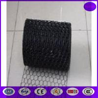 China Black Vinyl Chicken Wire Mesh Panels for Cages ,decoration and construction on sale