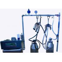 Quality Fully Refurbished Stainless Steel Bucket Milking Machine with Polished Pulsator wholesale