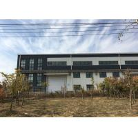 Quality Multi-span huge steel structure workshop with mezzanine office room wholesale