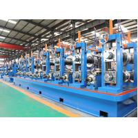Quality Friction Saw Cutting ERW Pipe Mill / SS Tube Mill Machine wholesale