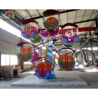 Quality 24 Seats Double Side Kids Ferris Wheel 12 Units Cabins Easy Maintenance wholesale