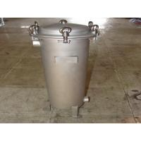 Quality Industrial 5 micron Bag Filter Housing For Liquid Filtration , High Pressure wholesale