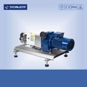SS316L High Purity Pumps , TUL-80 lobe pump with Mechanical motor