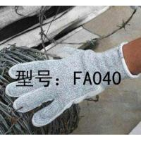 China Leather Cut Resistance Glove on sale