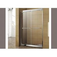 Quality High Strength Decorative Tempered Glass Size Customized For Shower Screen wholesale