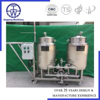 Quality Automatic Clean In Place Equipment , CIP System With Pump Valve Water Tank wholesale