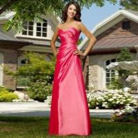 Quality Bridesmaid Dress/Strapless A-line Taffeta Gown with Sweetheart Neckline, Dramatic Style wholesale