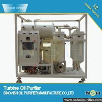 Quality Vacuum Turbine oil filterimg equipment, Oil Purifier, remove emulsified water and impurities, 600LPH-18000LPH wholesale