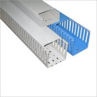 Quality Installation Square PVC cable trunking / duct with  high impact resistance for outdoor wholesale