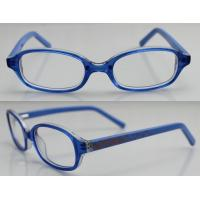 Quality Fashion Acetate Optical Kids Eyeglasses Frames with Blue , Black , Red wholesale