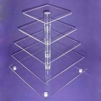 Quality CD (93) square cake stand wholesale