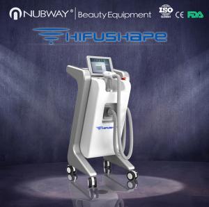 Quality NUBWAY HIFUSHAPE High Intensive ultrasonic machine for body slimming wholesale