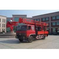Hydraulic Chuck Truck Mounted Drilling Rig large input power and output torque