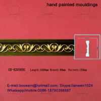 Quality Hand Painted PU Carved Cornices Moulding wholesale