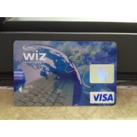 Quality New VISA Classic Card / Plastic Debit Card with High-tech Printing Quality wholesale