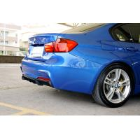 Quality BMW F30 F31 M-TECH Carbon fiber Front Lip Spoiler P Style wholesale