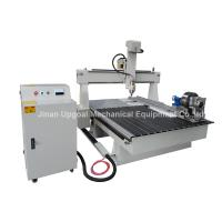 Quality High Z -axis 4 Axis CNC Wood Engraving Cutting Machine with DSP Offline Control wholesale