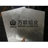 Quality Stucco 3003 Aluminium Embossed Sheet Customized Length 0.28mm-1.5mm Thickness wholesale