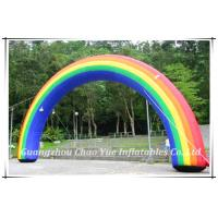 Quality High Quality Durable Wholesale Rainbow Inflatable Arch for Wholesale (CY-M2123) wholesale