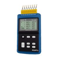 Quality High Precision 8 Channel Thermocouple Data Logger Large LCD Display With Back Light wholesale