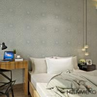 China Fiber Particle Interior Wallpaper Wall Decoration Living Room Plant on sale