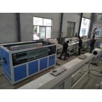 Quality High Output pvc plastic extrusion line , pvc pipe production line wholesale